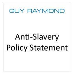GR Anti Slavery Policy