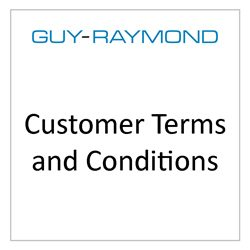 Customer Terms and Conditions