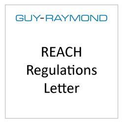 REACH Regulations Letter