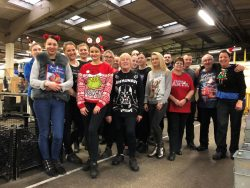 GR staff Xmas Jumper day